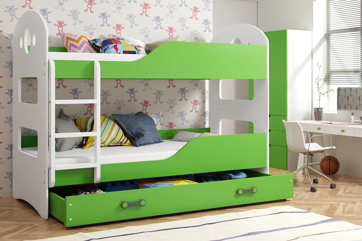 2798f608500e1 Moderné a lacné detské poschodové postele s prístelkou na predaj.